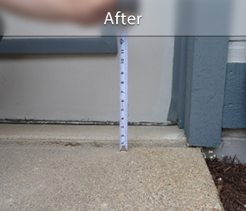 Providence concrete walkway repair & leveling